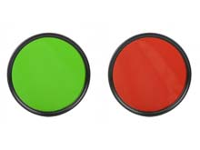 Acebeam FR60 Green & Red Flashlight Filters for the T27