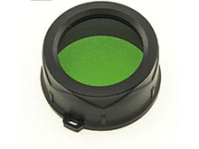 JETBeam MFG38 Green Filter - 1.50 Inches - Fits JETBeam DDC25 - DDR26 - TR20 -TS20 Flashlights
