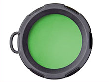 Olight Green Filter - Fits the Olight M10 and M18 LED Flashlights (OLIGHT-FM10-G)