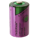 Tadiran Xtra Series TL-2150 1/2 AA 1000mAh 3.6V Lithium Thionyl Chloride (Li-SOCI2) Button Top Batteries - Tray of 90