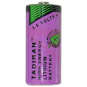 Tadiran Xtra Series TL-2155 2/3 AA 1450mAh 3.6V Lithium Thionyl Chloride (Li-SOCI2) Button Top Batteries - Case of 270