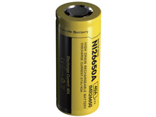 Nitecore IMR 26650 4200mAh 3.7V Unprotected High-Drain 40A Lithium Manganese (LiMn2O4) Flat Top Battery - Boxed