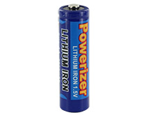 Powerizer LF AA 2900mAh 1.5V Lithium Iron (LiFeS2) Ultra Capacity Button Top Battery - Bulk