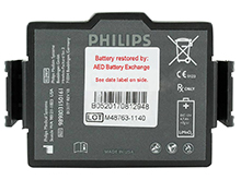 AED Replacement FR3-ABE Battery Pack for Philips HeartStart FR3 Defibrillators - 12V Lithium Manganese Dioxide (LiMnO2)