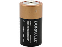 Duracell Coppertop Duralock MN1400 C Cell 1.5V Alkaline Button Top Battery - Made in the USA - Contractor Pack Priced Per Cell