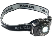 Pelican 2720 LED Headlamp - Gesture Activation Control - Variable Output - 200 Lumens - Includes 3 x AAAs - Black (027200-0100-110)