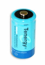 Tenergy 10200 C-cell 5000mAh 1.2V Nickel Metal Hydride (NiMH) Button Top Battery - Bulk