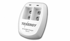 Tenergy TN141 Smart 2-Bay 9V NiMH Battery Charger (01141)