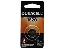 Duracell Duralock DL CR1620 75mAh 3V Lithium Primary (LiMNO2) Watch/Electronic Coin Cell Battery (DL1620BPK) - 1 Piece Retail Card