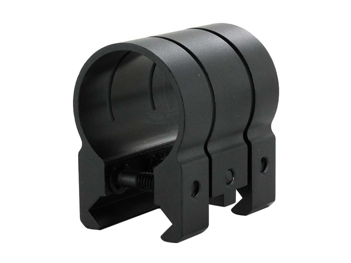 Weapon mount for univeral and picatinny rails