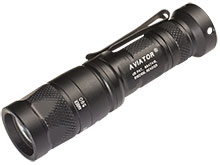 SureFire Aviator Dual Output Multi-Spectrum LED Flashlight - 250 Lumens - Includes 1 x CR123A -  Available with Blue, Red, Amber, or Yellow-Green Secondary LED