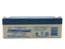 Power-Sonic AGM General Purpose PS-1220 2.5Ah 12V Rechargeable Sealed Lead Acid (SLA) Battery - F1 Terminal