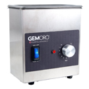 GemOro 1.5 Pint Next Generation Ultrasonic Cleaner - With or Without Heat