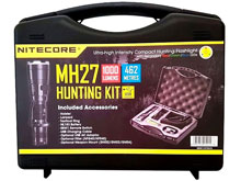 Nitecore MH27 1000 Lumen LED Flashlight Night Hunting Kit with GM02 Weapon Mount, RSW1 Pressure Switch, NFR40 Red Filter, NFG40 Green Filter - Fits Picatinny Railed Guns