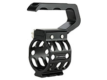 JETBeam RM-46 Weapon Rail Mount for Raptor RRT-3 Flashlight - Fits Picatinny Rails - Black