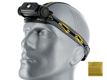 Fenix HL60R Dual Light Source USB Rechargeable Headlamp - CREE XM-L2 U2 LED - 950 Lumens - Uses 1 x 18650 (included) or 2 x CR123A - Available in Black and Yellow