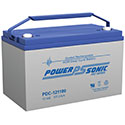 Power-Sonic AGM Deep Cycle PDC-121100 107Ah 12V Rechargeable Sealed Lead Acid (SLA) Battery - T11 Terminal
