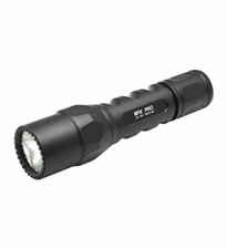 SureFire 6PX Pro Dual-Output LED Flashlight - 320 Lumens - Includes 2 x CR123As (6PX-D-BK)