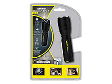 Rayovac Roughneck LED Tactical Flashlight - CREE XR-E LED - 200 Lumens - Includes 3 x AAAs (RNT3AAA-B)