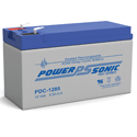 Power-Sonic AGM Deep Cycle PDC-1285 8.5Ah 12V Rechargeable Sealed Lead Acid (SLA) Battery - F2 Terminal