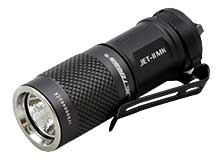 JETBeam JET-II MK Everyday Carry Flashlight - CREE XP-L HI LED - 510 Lumens - Uses 1 x 16340 or 1 x CR123A