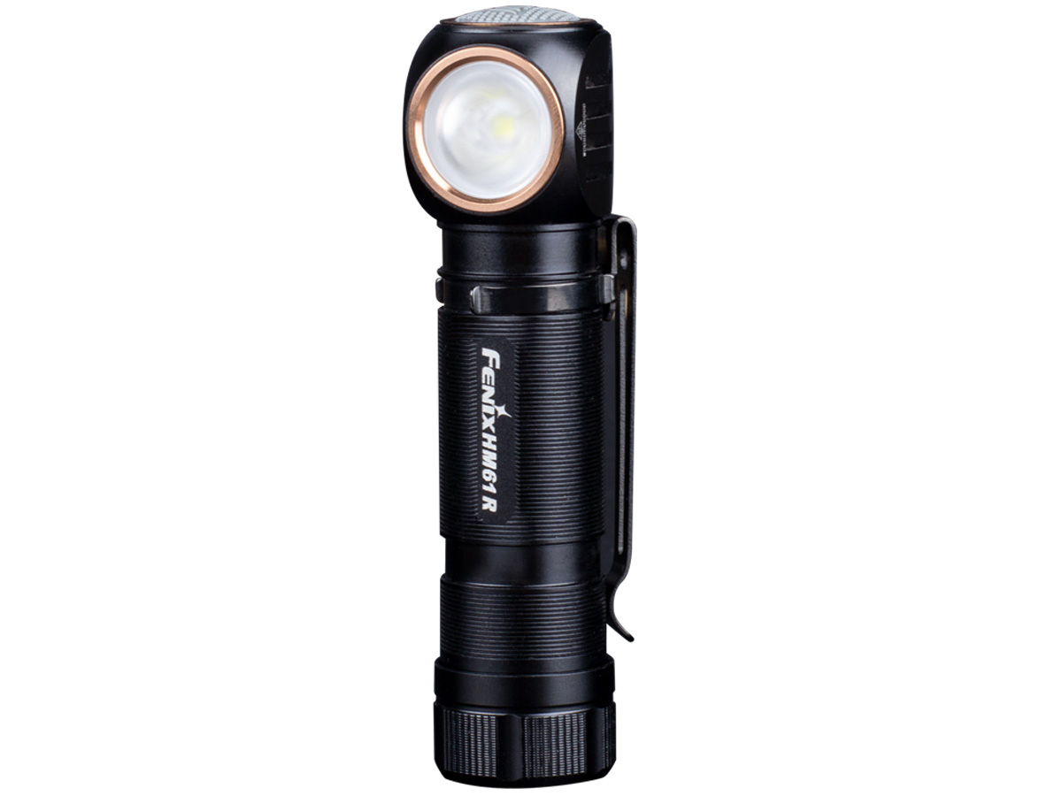 Fenix HM61R Flashlight Headlamp Vertical