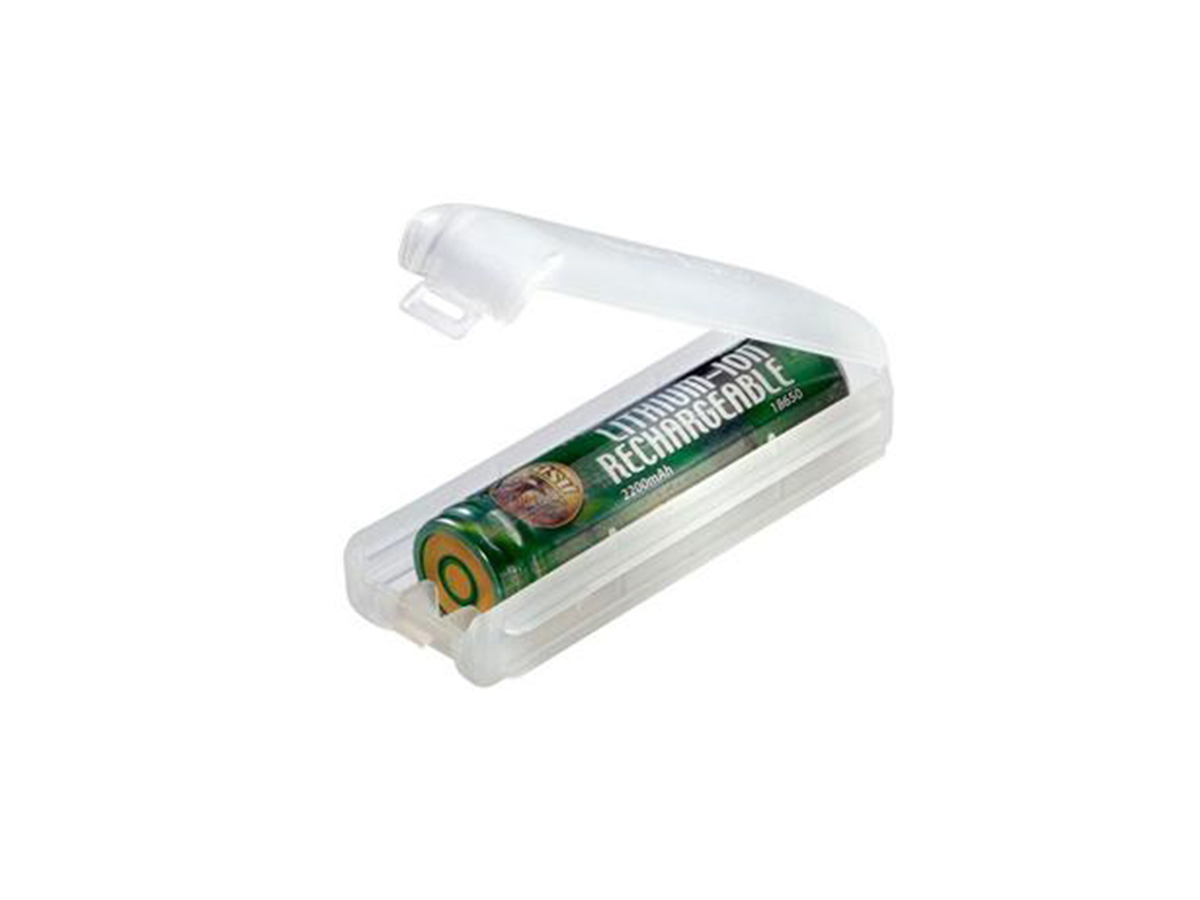 asp 18650 charge kit, just the asp 18650 battery in its linked storage case that it comes in