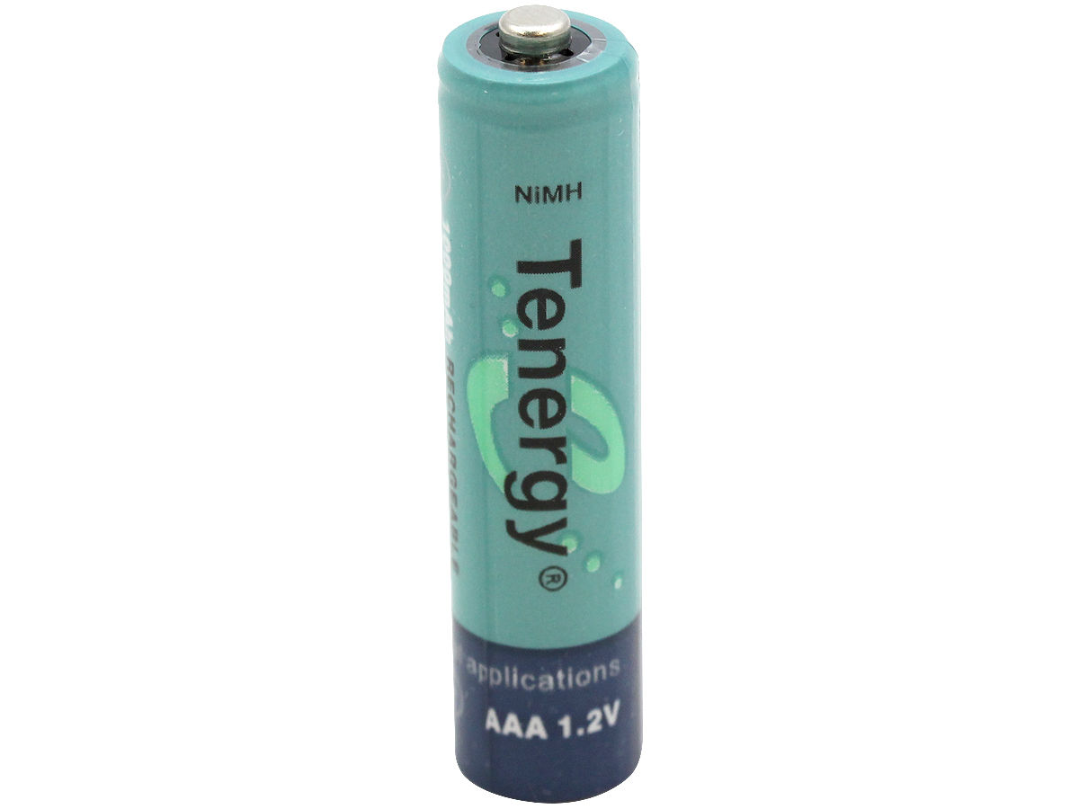 Example of Tenergy AAA Batteries