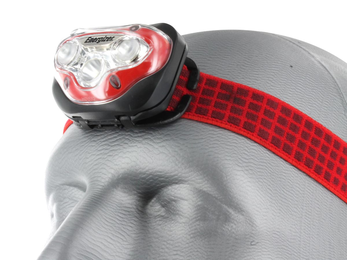 Vision HD Headlamp Shown on Dummy Head
