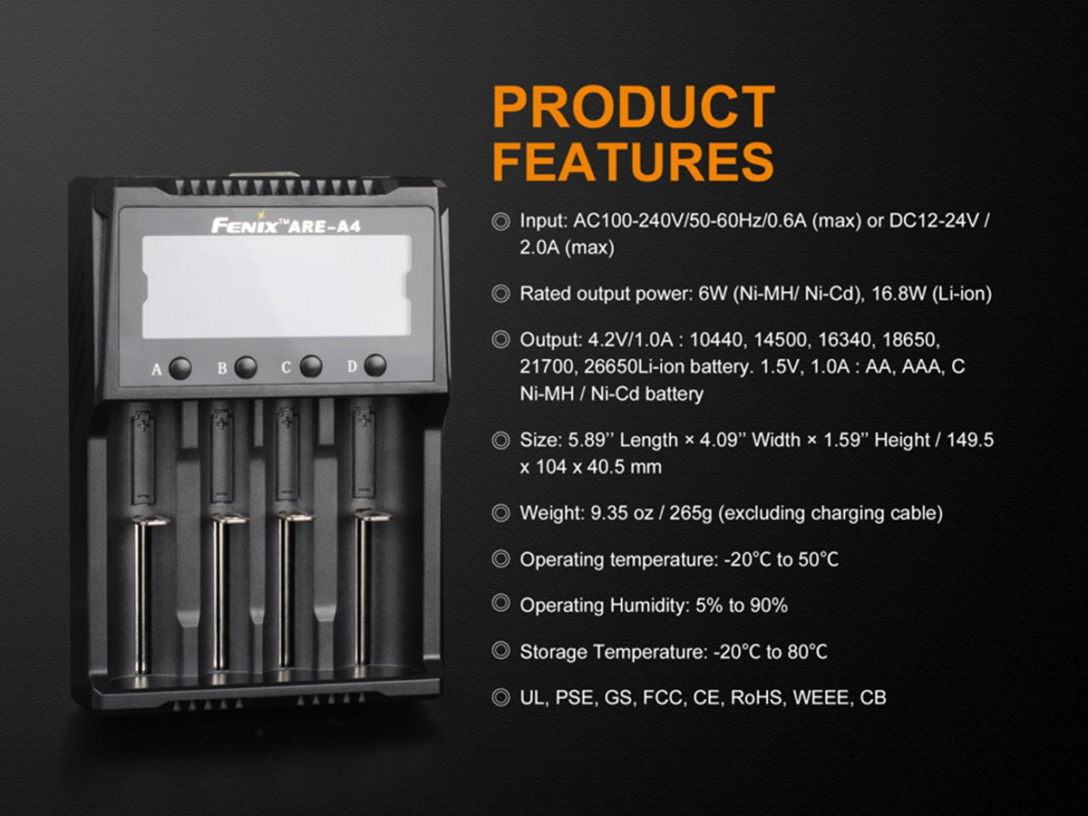 MANUFACTURER SLIDE WITH MORE SPECIFIC FEATURES