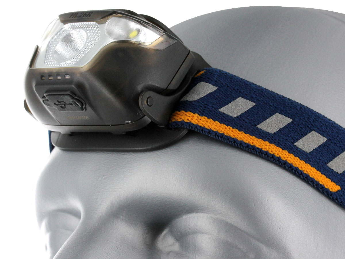 Fenix HL26R Headlamp with blue head