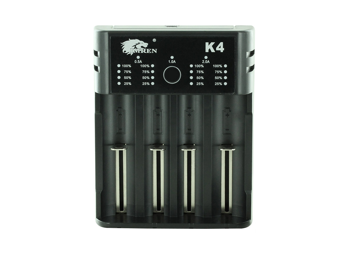 k4 charger vertical