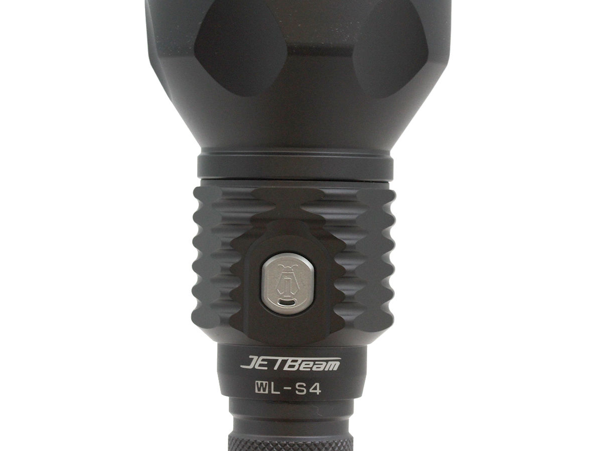 Side Switch of the Jetbeam WL-S4-GT Searchlight