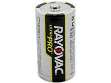 Rayovac Ultra Pro AL-C 1.5V Alkaline Button Top Battery - Bulk