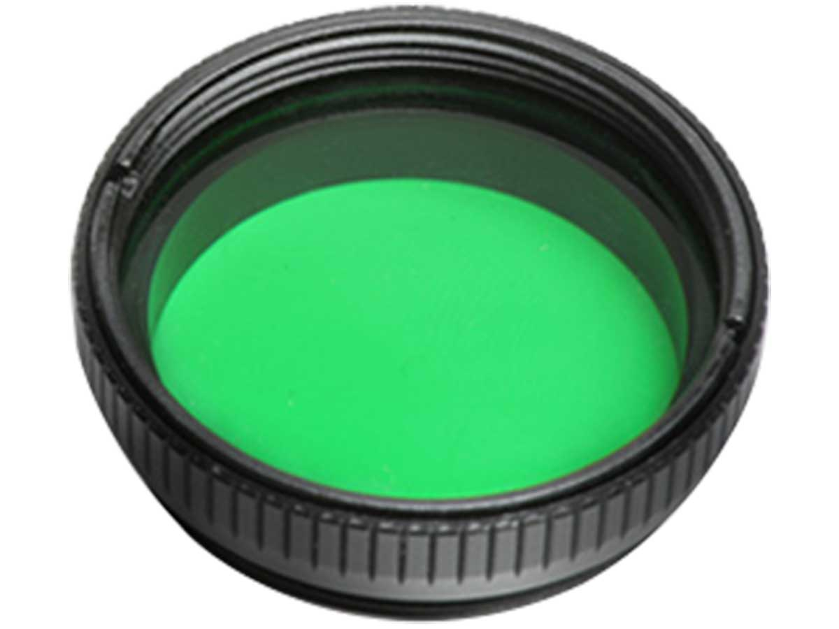 Green Flashlight Filter