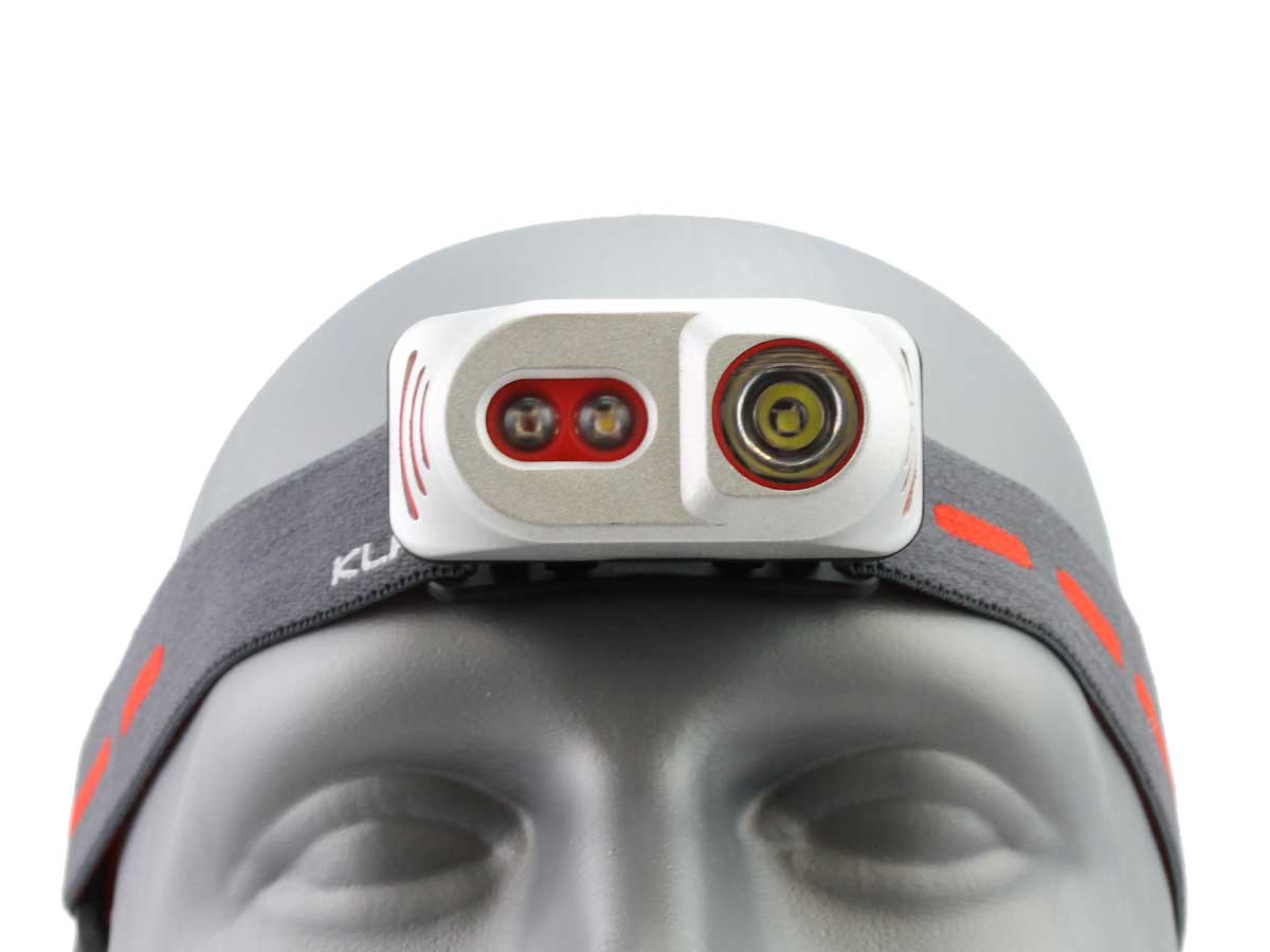 Zoomed Head Front Shot of the H1A Al Headlamp