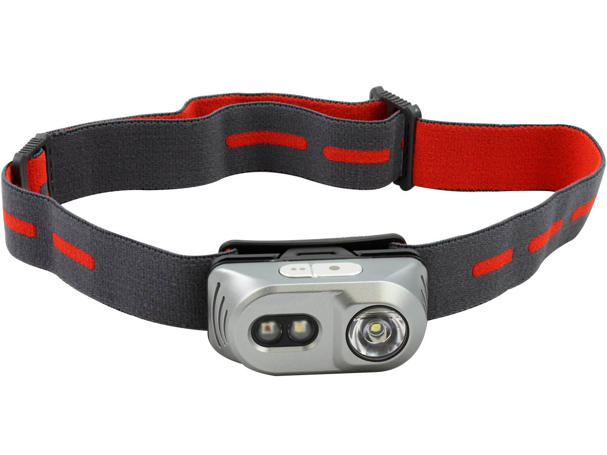 Band Front Shot of the H1A Al Headlamp