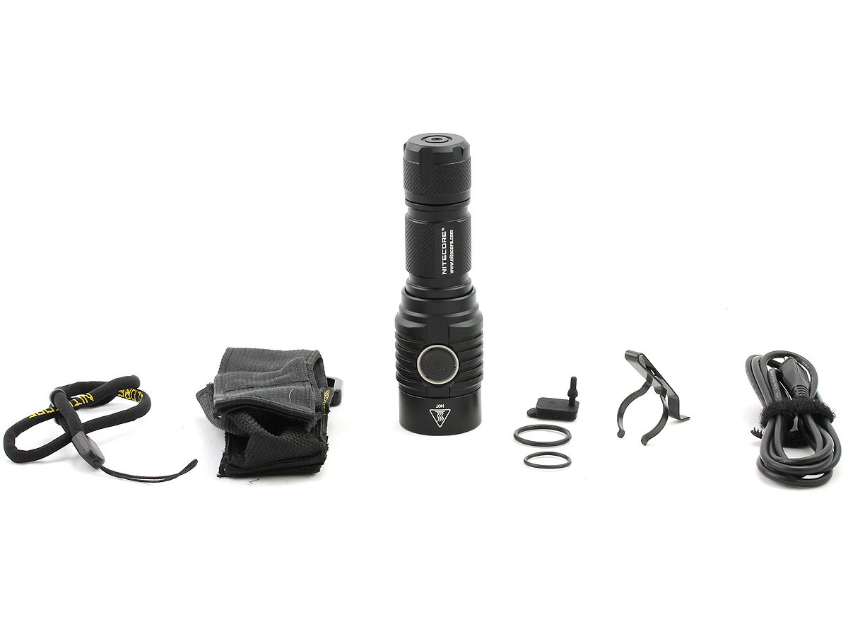 Nitecore MH23 with accessories