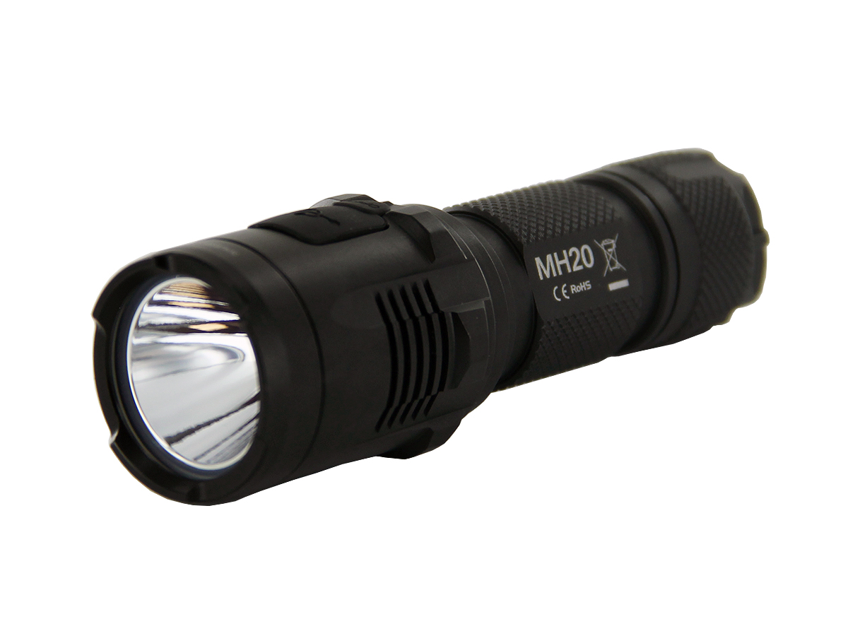 Nitecore MH20 Rechargeable Flashlight with Smooth Reflector