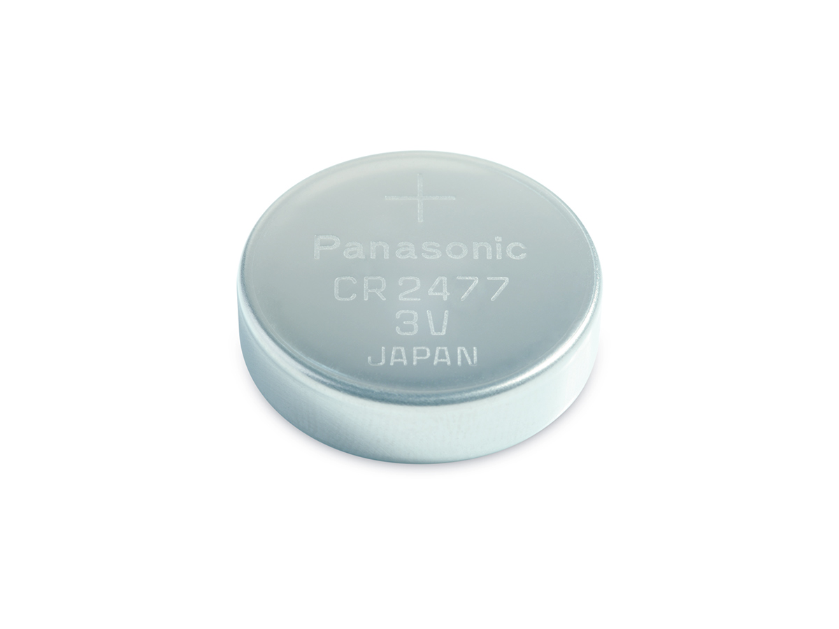 panasonic cr2477 coin cell solo