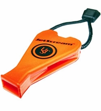 Ultimate Survival Technologies JetScream Micro Floating Whistle / Emergency Signaling Device - 122dB - Orange (20-300-01)
