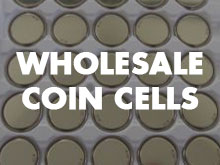 Wholesale Coin Cell Batteries