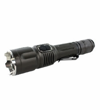 TerraLUX / Lightstar Corp. TDR-2 Tactical USB Rechargeable Flashlight - CREE XM-L LED - 500 Lumens - Uses 2 x CR123a or 1 x 18650 (Included)