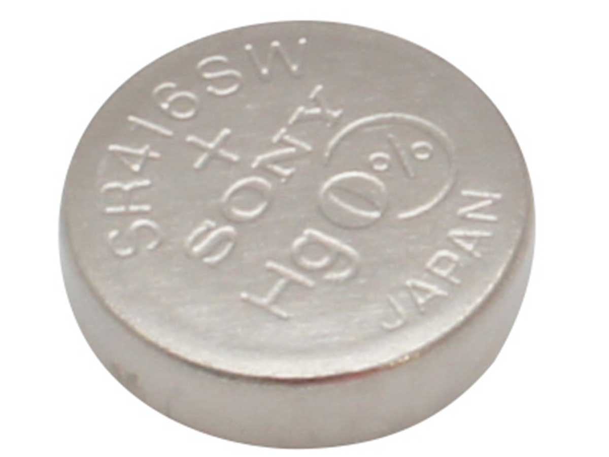 Sony 337 Coin Cell