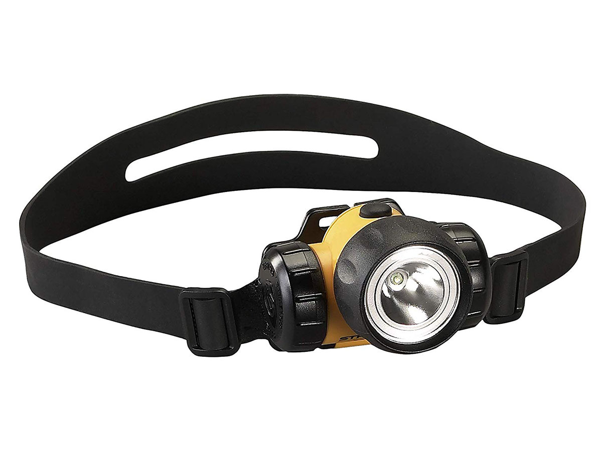 3AA HAZ-LO head light with rubber headband