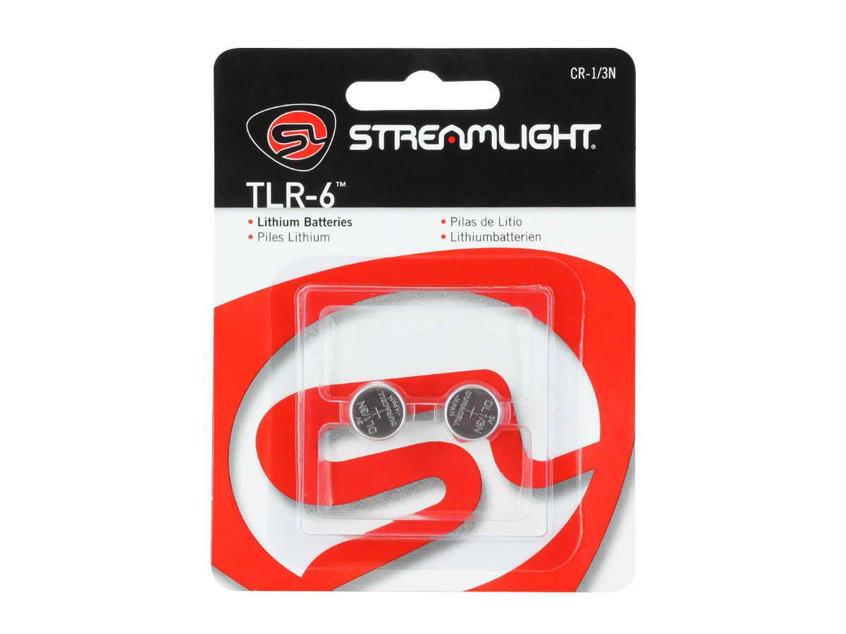 Streamlight CR 1/3N Lithium Coin Cell Batteries