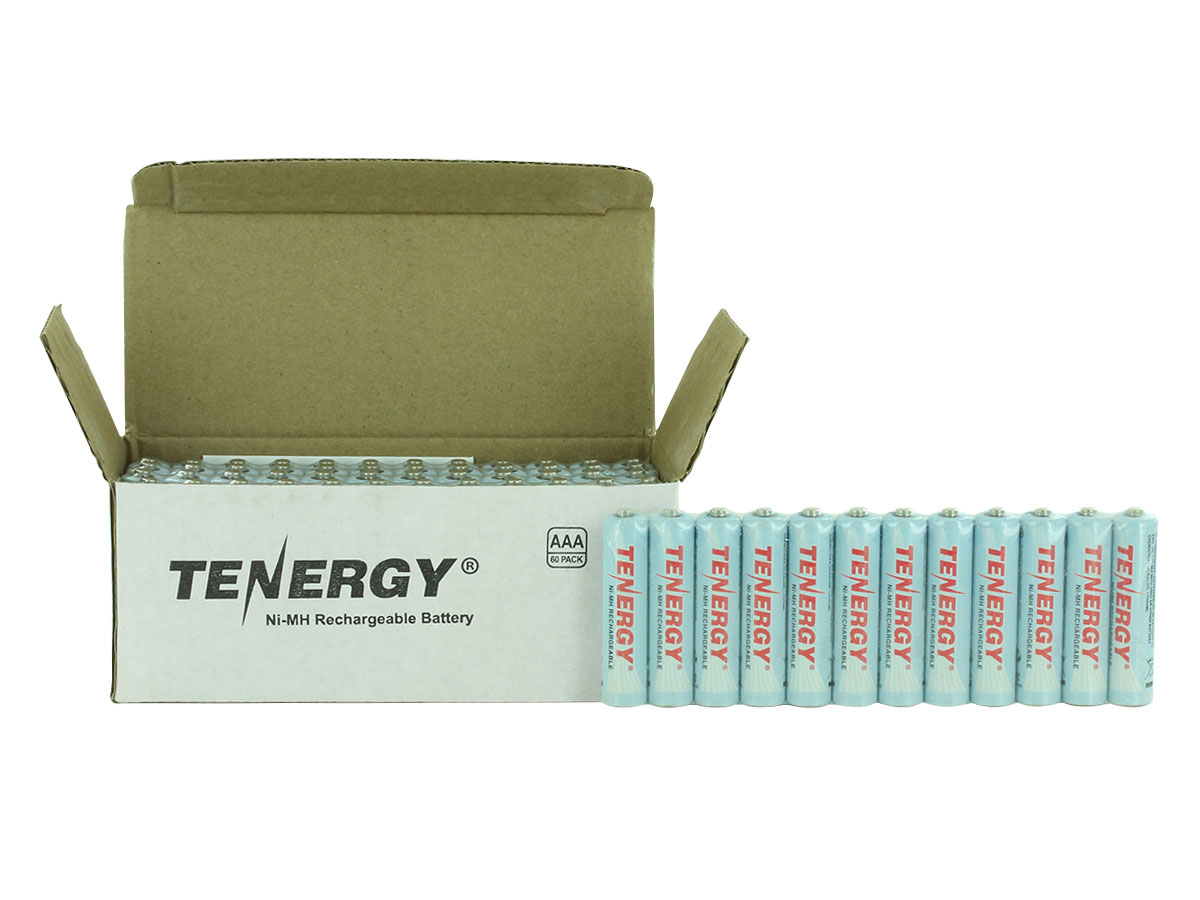Box of 60 of Tenergy 10400 AAA Batteries