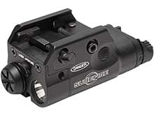 SureFire XC2-A Ultra Compact Pistol Light with Red Laser - 300 Lumens - Uses 1x AAA Lithium Primary