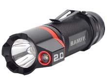 Striker BAMFF 2.0 Dual LED Flashlight - CREE LED - 200 Lumens - Includes 3 x AAA