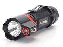 Striker BAMFF 4.0 Dual LED Flashlight - CREE LED - 400 Lumens - Includes 3 x AAA